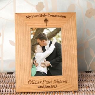 Personalised 1st Holy Communion Frame: Portrait
