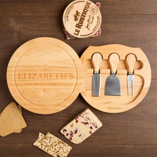 Personalised Established Round Cheeseboard