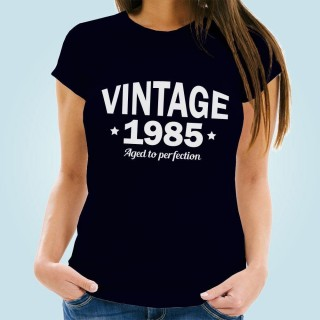Classic Vintage Year Personalised Womens T-Shirt