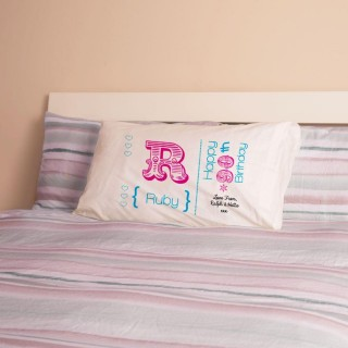 Personalised 90th Birthday Letter Pillowcase For Her