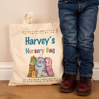 Customised Nursery Bag – Monster Design