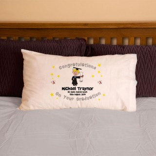 Male Graduation Pillowcase