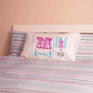Personalised 30th Birthday Letter Pillowcase For Her