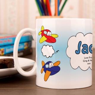 Aeroplane Mug