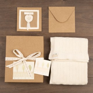 Blanket & Greeting Card Set