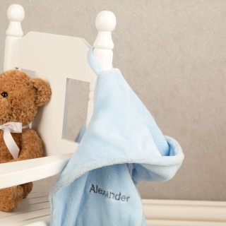 Personalised Embroidered Baby Boys First Dressing Gown
