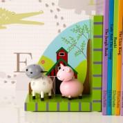 Farm Animal Bookends Sheep & Pig