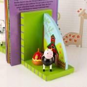 Farm Animal Bookends Hen & Cow